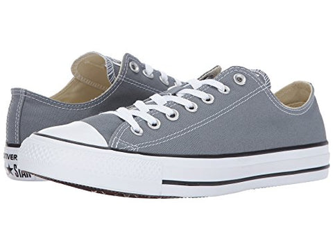 Converse Chuck Taylor All Star Seasonal Ox Low Top Sneaker Cool Grey (6 D(M) US)
