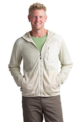 ExOfficio Men's BugsAway Sandfly Jacket, Bone, Medium