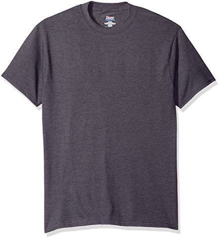 Hanes Men's Short Sleeve Beefy-T, Smoke Gray, XL