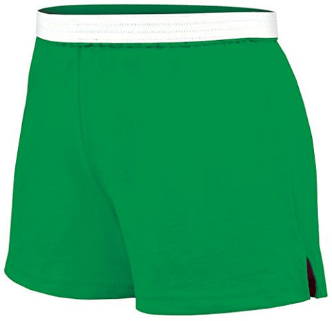 Soffe Juniors Athletic Short, Kelly, X-Small