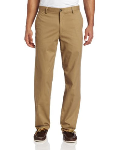 Dockers Men's Easy Khaki D2 Straight-Fit Flat-Front Pant, 36W x 32L, New British Khaki