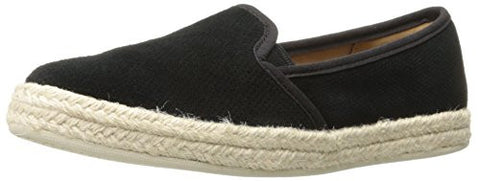 Clarks Women's Azella Theoni Slip-on Loafer, Black, 10 M US
