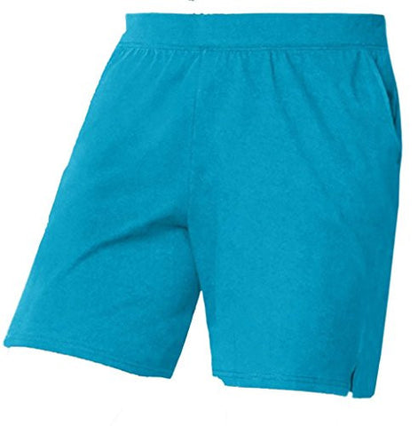 Just My Size Womens Plus Cotton Jersey Pull-On Shorts (1X, Blue)