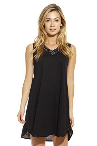1530-BLK-L Dreamcrest Nightgown / Women Sleepwear / Sleep Dress