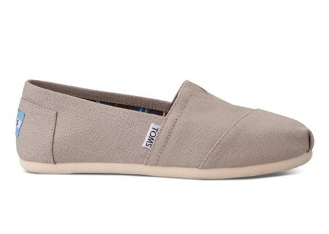 TOMS Women's Classics Light Grey 7.5 B - Medium