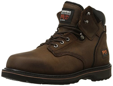 "Timberland PRO Men's Pitboss 6"" Soft-Toe Boot,Brown,11.5 M"