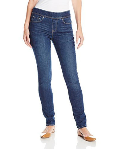 Levi's Women's Perfectly Slimming Pull-On Skinny, Indigo Drift, 32/14 Medium
