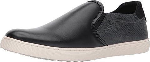 Steve Madden Men's Gallagher Fashion Sneaker, Black, 7.5 M US