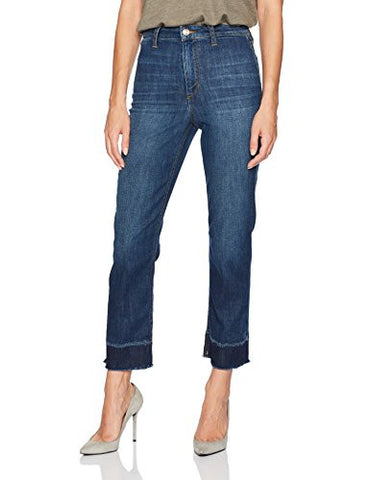 Joe's Jeans Women's Jane High Rise Straight Crop Jean with Mended Hem, Aleja, 25