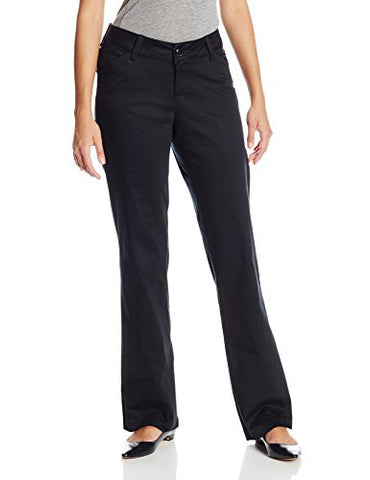 Lee Women's Modern Series Curvy Fit Maxwell Trouser, Black, 14