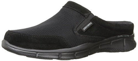 Skechers Sport Equalizer Coast To Coast Mule, Black, 44 EU