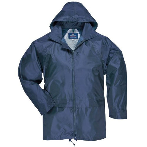 Portwest Classic Rain Jacket, Small to XXL, 3 colours - Navy - XL