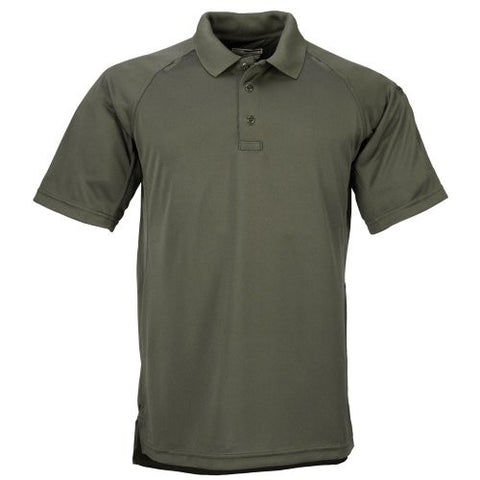 5.11 Tactical #71049 Performance Polo Short Sleeve Shirt (L.E. Green, X-Small)