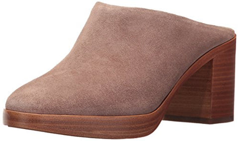 FRYE Women's Joan Campus Mule, Dusty Rose Soft Oiled Suede, 6 M US
