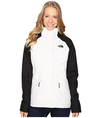 North Face Womens Boundary Triclimate Jacket - Large - Lunar Ice Grey/TNF Black