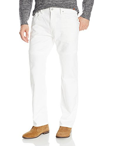 Levi's Men's 569 Loose Straight Leg Twill Pant, White, 36x30