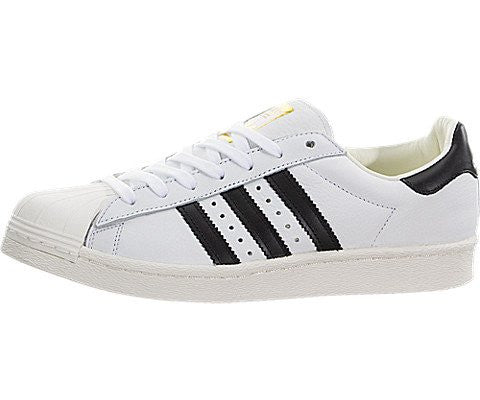 adidas Originals Men's Superstar, Ftwwht,Cblack,Goldmt, 11.5 Medium US