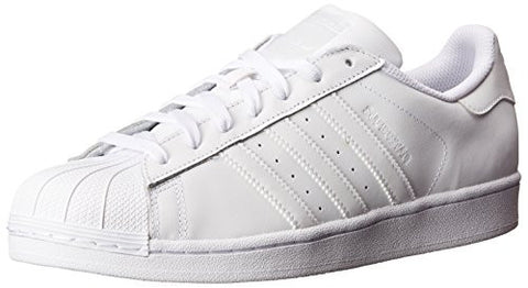 adidas Originals Women's Superstar W Fashion Sneaker,  White/White/White,  7 M US