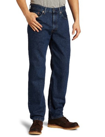 Levi's Men's 550 Relaxed Fit Jean, Dark Stonewash, 38x32
