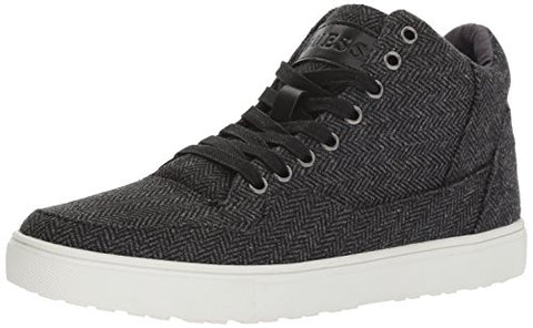 Guess Men's Towman Sneaker, Black, 10 Medium US