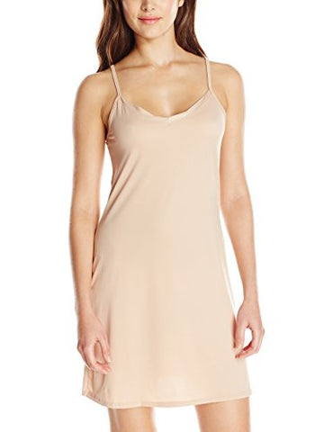 Vassarette Women's Spin Slip 10186, Vass Latte, Medium