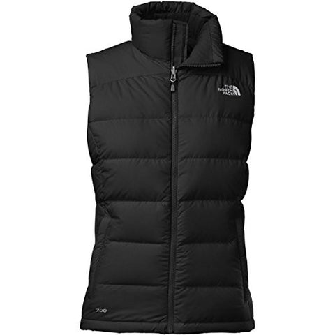 The North Face Womens Nuptse 2 Down Vest, TNF Black (XS)