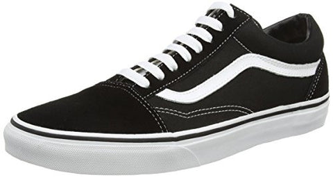 Vans Unisex Old Skool Black/White Skate Shoe 11 Men US