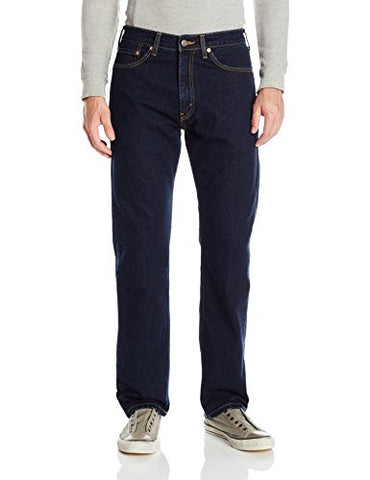 Signature by Levi Strauss & Co Men's Regular Jean, Rinse, 34x32