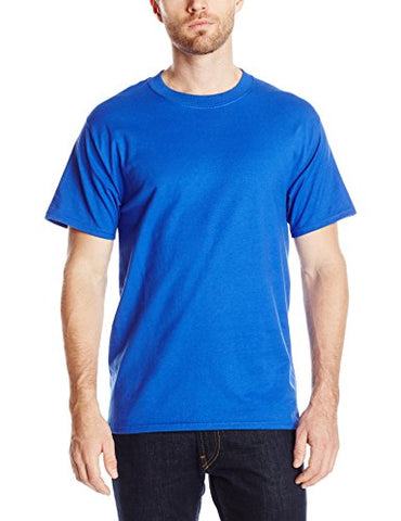 Hanes Men's Short-Sleeve Beefy T-Shirt,Deep Royal,X-Large