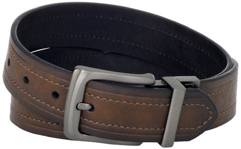 Levi's Men's Levi's 1 9/16 in. Reversible Belt (Regular and Big & Tall Sizes),Brown/Black,40
