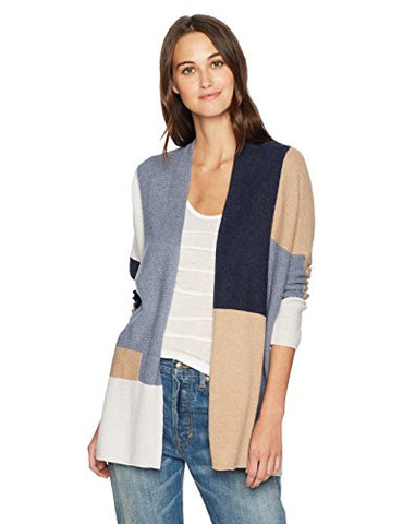 Lucky Brand Women's Colorblock Sweater, Multi, Large