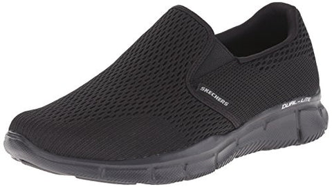 Skechers Sport Men's Equalizer Double Play Slip-On Loafer, Black, 12 M US