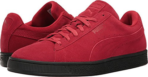 Puma Mens Suede Black Sole Red Shoes