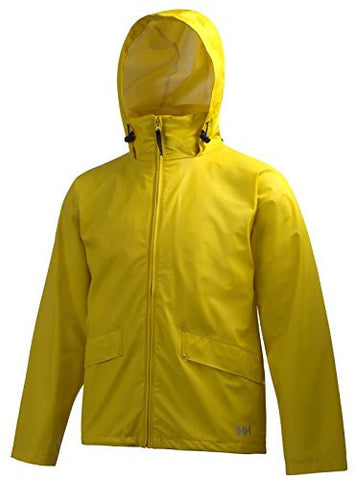 Helly Hansen Men's Voss Rain Jacket, Yellow, 5X-Large