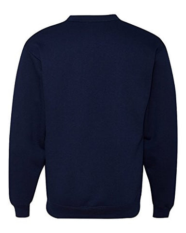 Jerzees 8 oz., 50/50 NuBlend® Cardigan S/M J Navy
