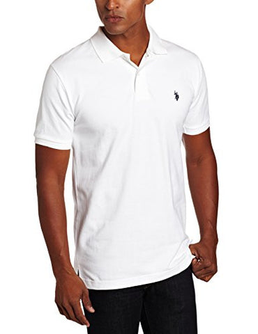 U.S. Polo Assn. mens Classic Polo Shirt (Color Group 1 of 2), White, X-Large
