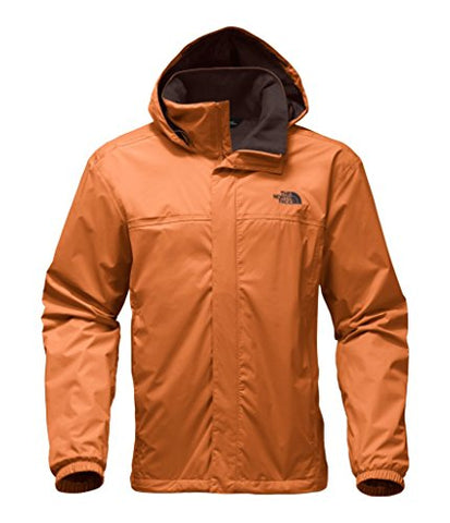 The North Face Men's Resolve 2 Jacket - Autumnal Orange/Brunette Brown - L