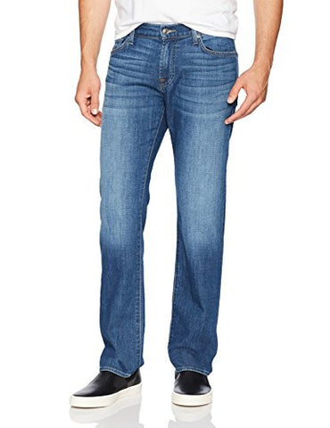 7 For All Mankind Men's Standard Classic Straight Fit Jean, French Blues, 36