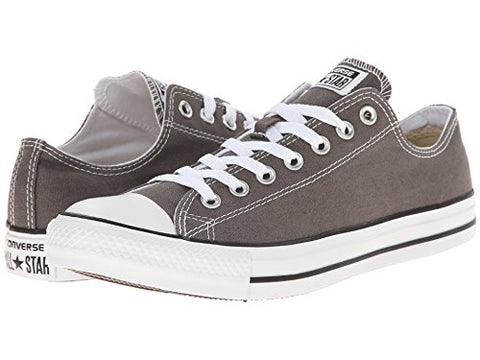Converse Unisex Chuck Taylor All Star Ox Basketball Shoe (14 B(M) US Women/12 D(M) US Men, Charcoal.)