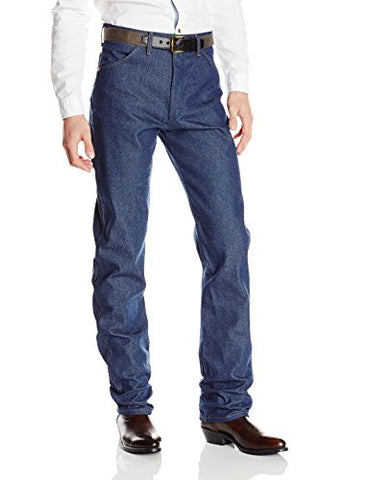 Wrangler Men's Cowboy Cut Original Fit Jean, Rigid Indigo, 36X32