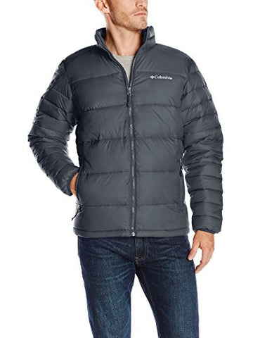 Columbia Men's Frost-Fighter Puffer Jacket, Graphite, Medium
