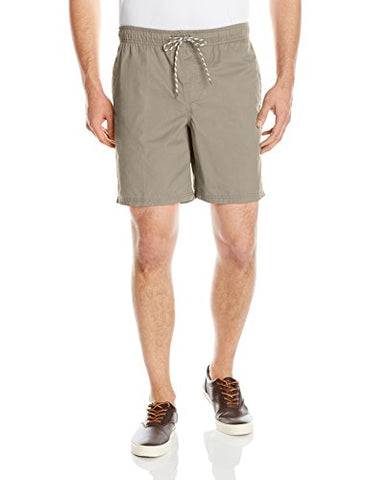 Amazon Essentials Men's Drawstring Walk Short, Khaki, Large