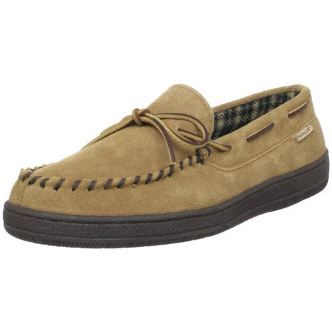 Hideaways by L.B. Evans Men's Marion Moccassin,HashBrown,9 3E US