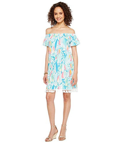Lilly Pulitzer Women's Marble Dress, Multi Beach and Bae, S