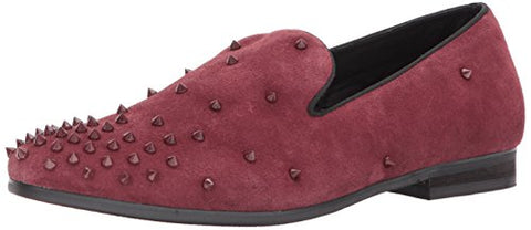 Steve Madden Men's Cascade Slip-on Loafer, Burgundy Suede, 12 US/US Size Conversion M US
