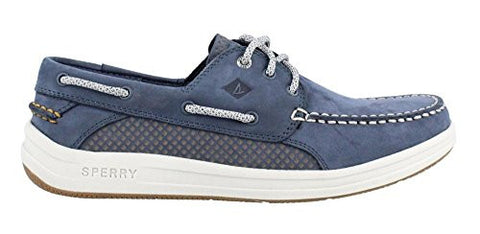 Sperry Top-Sider Men's Gamefish 3-Eye Boat Shoe, Navy, 9.5 M US