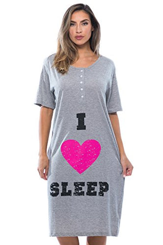 4361-24-M Just Love Short Sleeve Nightgown / Sleep Dress for Women / Sleepwear