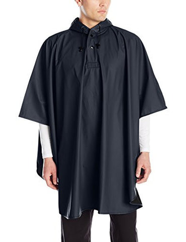 Charles River Apparel Men's Pacific Poncho, Navy, One Size
