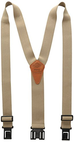 Dickies Men's Perry Suspender,Beige,One Size