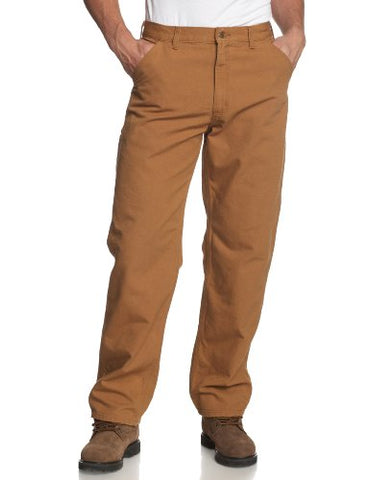 Carhartt Men's Washed Duck Work Dungaree Utility Pant B11,Carhartt Brown,32 x 32